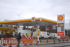 Shell, Hitchin Road Luton Bedfordshire. (EYBusman) Tags: shell petrol gas gasoline filling service station hitchin road luton bedfordshire total eybusman