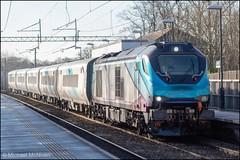 Transpennine Express 68032 (Mike McNiven) Tags: transpennine express diesel loco locomotive drs direct railservices manchester internationaldepot gatley crewe caf testing newtrain