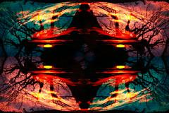 Tree at Sunrise (Shastajak) Tags: photoshopcc layers mirroring blending sunrise tree filter hss sliderssunday