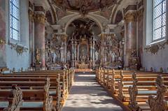 St. Anna Wallfahrtskirche (pilgrimage church) (Chris (Midland05)) Tags: germany ricoh ricohgr ricohgrdigital haigerloch badenwürttemberg de