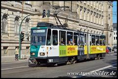 161-2009-08-20-Am Kanal (steffenhege) Tags: potsdam vip tram tramway strasenbahn streetcar tatra kt4d kt4dm 161