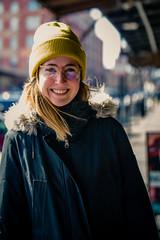 Warm Smile (rg69olds) Tags: 02092019 40mm 5dmk4 canoneos5dmarkiv nebraska sigma40mmf14artdghsm art canon oldmarket omaha sigma girl portrait streetportrait streetphotography smile warm cold winter 40mmf14dghsm|a