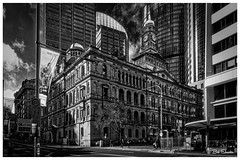 Historic Building in Faux Infrared (Bob Shrader) Tags: olympuspenf olympusmzuikodigitaled12100mmf40ispro 12mm f10 1400sec 200iso raw microfourthirds mft m43 mirrorless landmarks publicbuilding departmentoflandsbuilding architecture style victorianrenaissancerevival structure building skyscraper government historic nature sky clouds people pedestrians transportation sidewalk street wideshot zoomlens olympusmzuikodigital12100mmf40ispro penf dxo dxophotolab dxoviewpoint alienskin exposurex4 bwinfrared kodakhiegrainoff fauxfilm filmlook monochrome fauxinfrared blackandwhite photoborder photoedge photoframe postprocessing preset bw blackwhite usa