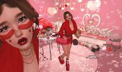 【forever yours ♥】 (Sooyun Ichtama) Tags: secondlife sl valentine red thegreendoor velvetwhip lagom dustbunny halfdeer stockholmlima blackbantam blah cestlavie justmagnetized lotus suicidalunborn tetra truth wednesday collabor88 gachagarden access gacha
