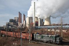 Krauss-Maffei EL 1 (O l l i . B .) Tags: rwepower547 rwe neurath kraftwerk powerplant braunkohle ollib oliverbuchmann rheinbraun kraussmaffei el1 ollib² industrial industrie nrw nordrheinwestfalen deutschland germany woanders eisenbahn lokomotive
