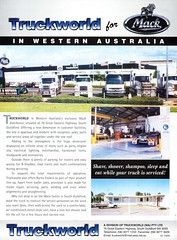 2000 Truckworld For Mack In Western Australia Aussie Original Magazine Advertisement (Darren Marlow) Tags: 2 20 00 2000 t truckworld f for m mack truck r rig s semi h hauler c cool collectible collectors classic a automobile v vehicle u us usa united states american america 00s