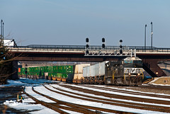 24Z at CP Bethlehem (Erie Limited) Tags: bethlehempa riveryard cpbethlehem ns 24z norfolksouthern ge c449w train railfan railroad