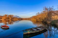 La banquise a fondu.... le printemps arrive (Savoie 02/2019) (gerardcarron) Tags: canon80d lacsthelene lake savoie water