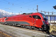 ÖBB 1216 018-2 Railjet Design, Innsbruck (TaurusES64U4) Tags: öbb taurus 1216
