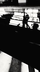 Paris, Gare du Nord (Chaufglass) Tags: paris gare garedunord nb bw lignes rails voyage transports