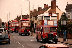 Deja Vu (ekawrecker) Tags: bus backtobk london transport regent rt aec barking 40years 1979 2019 1939 80years eyk396