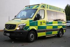 LPP 774 (ambodavenz) Tags: mercedes mercedesbenz sprinter 319cdi actionmotormodies christchurch ambulance stjohn newzealand