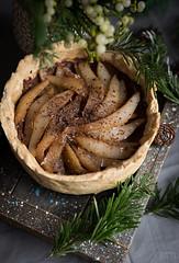 vegan chocolate tart (beppelena) Tags: vegan sigma sigma35mmart tarte foodphotography