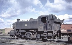 1508 at Cardiff Canton MPD September 1962 by John wiltshire: Peter Brabham collection (peter.brabham) Tags: john wiltshire steam railway photography