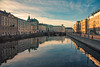 Calm day in Gothenburg (Fredrik Lindedal) Tags: gothenburg göteborg city cityscape cityview reflections water clouds buildings calmness streetview sweden sverige sunlight lindedal
