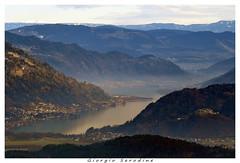 ausrtria laghi (Giorgio Serodine) Tags: austria laghi vista allaperto tele montagne paesi castello villach dintorni paesaggio foschia boschi alberi cielo