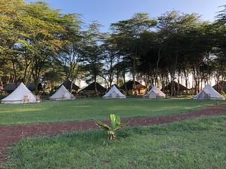 Africa Safari Lake Manyara Camping bell tent 2 guest