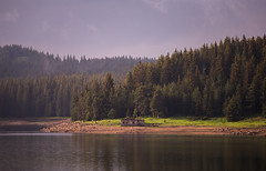 IMG_0481 (blooddrainer) Tags: landscape nature mountain dam reservoir house forest bulgaria blooddrainerphotography