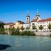 Innsbruck, the River behind the Altstadt