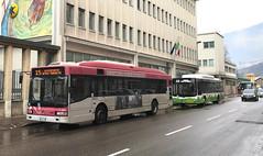 Irisbus Cityclass Cursor Trentino Trasporti n.717 + MAN Lion's City Trentino Trasporti n.740 (klanquen) Tags: trentinotrasporti tt trento bus autobus autobusitalia busesinitaly trentino cityclass cityclasscursor irisbuscityclass ivecocityclass manbus manlionscity lionscity