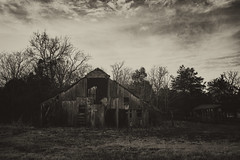 My favorite barn (Sarah Rausch) Tags: abandoned rural christianatn barn tennessee sony vintage mono