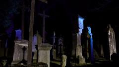Midnight in the cemetery (MikeSolfrank) Tags: straubing nacht night black düster friedhof cemetery ruhe death live tod leben kreuz kruzefix stpeter old alt stimmung
