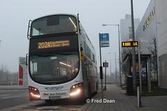 Bus Eireann VWD28 (151G2259). (Fred Dean Jnr) Tags: buseireannroute202a volvo b5tl wright eclipse gemini3 vwd28 151g2259 mahonpoint cork february2019 buseireann wrightbus