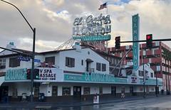 EL CORTEZ HOTEL LAS VEGAS NEVADA (ussiwojima) Tags: elcortezhotel hotel casino gaming gambling lasvegas nevada neon advertising sign
