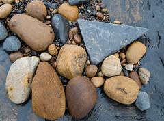 Odd one out (Donard850) Tags: england northyorkmoors saltwickbay uk yorkshire coast lowtide rocks seashore