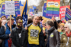 Put It To The People March - London, 23 March 2019 (The Weekly Bull) Tags: brexit britain chukaumunna conservative eu europeanunion london peoplesvote tory uk democracy demonstration protest rally rerun referendum remainers