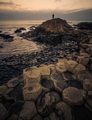 Causeway (jasonhudson2) Tags: giants causeway ireland galway seascape rocks beach sony person