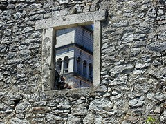 A detail from Pican (Vid Pogacnik) Tags: hrvatska croatia istra istria ancient ruines historical pican pića town window detail church