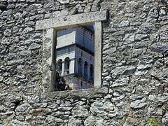 A detail from Pican (Vid Pogacnik) Tags: hrvatska croatia istra istria ancient ruines historical pican pića town window detail church