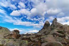 Пирин. Поглед от връх Валявишки чукар (sevdelinkata) Tags: rocks sky blue mountain pirin bulgaria peak
