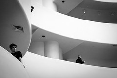 Guggenheim Museum (teresapilcher) Tags: nyc street streetphotography sony sonymirrrorless travel explore museum art monochrome bw blackandwhite
