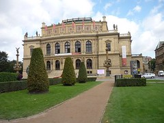 Prague, Czech Republic (svv.david) Tags: prague czechrepublic sky grass building tree garden park road architecture