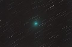 Comet C/2018 Y1 (Iwamoto) on Feb 13, 2019.  Star-Streaks version (CajunAstro) Tags: comet c2018 y1 iwamoto televue tv85 canon stars sky nightsky telescope