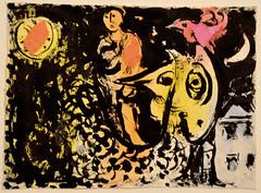 Esquisse pour Coucher de soleil et coq au double profil (RarOiseau) Tags: peinture musée exposition aixenprovence paca bouchesdurhône
