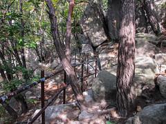 Dobongsan Day Hike (burnt dirt) Tags: south korea korean southkorean seoul wires rock boulder canon mountain hill climb hike dobongsan walk