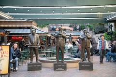Three Jazz Men Statue (gemapozo) Tags: musicallegendspark bourbonstreet d850 usa nikon statue frenchquarter neworleans ニューオーリンズ ルイジアナ州 アメリカ合衆国 us afsnikkor2485mmf3545gedvr フレンチクォータ バーボンストリート 銅像