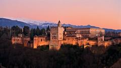 Atardecer en La Alhambra - Version 2 (Angaros) Tags: sunset atardecer españa spain alhambra granada