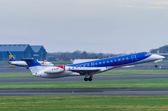 IMGP8083_G-RJXE_PIK (ClydeSights) Tags: airport e145 egpk er4 erj145ep embraer flybmilivery grjxe glasgowprestwickairport loganair pik cn145245