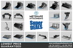 Super Deals on Excavator Attachments and Skid Steer Attachments (MetshapeAttachments) Tags: metshapeattachments excavatorattachments excavator attachments digger diggerattachments skid steer skidsteerattachments