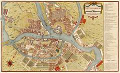 Pierre Antoine Tardieu - St. Petersbourg (c.1790) (Padre Martini) Tags: pierreantoinetardieu art maps engravings saintpetersbourg santpetersburg