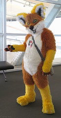 Xander (Coyoty) Tags: anthrocon2015 davidllawrenceconventioncenter pittsburgh pennsylvania pa convention conventioncenter cosplay costume anthrocon anthropomorphics anthropomorphic furry fandom fun furries fursuit furryfandom mascot fox red orange yellow xander people smile