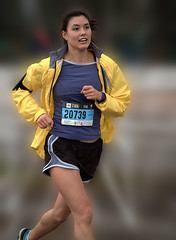 In The Home Stretch (Scott 97006) Tags: woman race racer female lady athlete running shorts cute distance