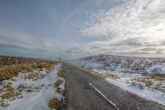 ColdAxeEdge (Tony Tooth) Tags: nikon d7100 sigma 1020mm road snow cold wintry snowy hdr moors moorland axeedgemoor buxton derbyshire england