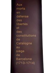 PEBETER EN HONOR DELS CAIGUTS DURANT EL SETGE DE 1714 (Yeagov_Cat) Tags: 1713 171314 17131714 1714 2019 albertvilaplana barcelona catalunya fossardelesmoreres pebeter