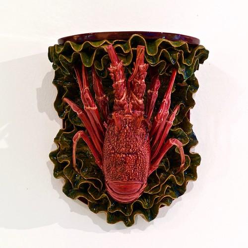 """Lobster"" Missal (undated) - Rafael Bordalo Pinheiro (1846 - 1905)"