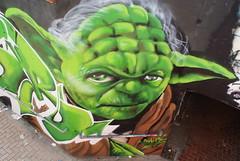 Yoda (nothinginside) Tags: yoda jedi return star wars guerre stellari empire impero 2019 lucas graffiti murales mural skate skatepark park msida malta green cooker writer art street pop urban
